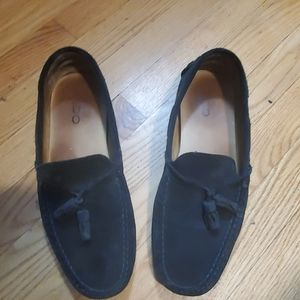 Aldo Loafers, very comfortable!  Black smooth sued